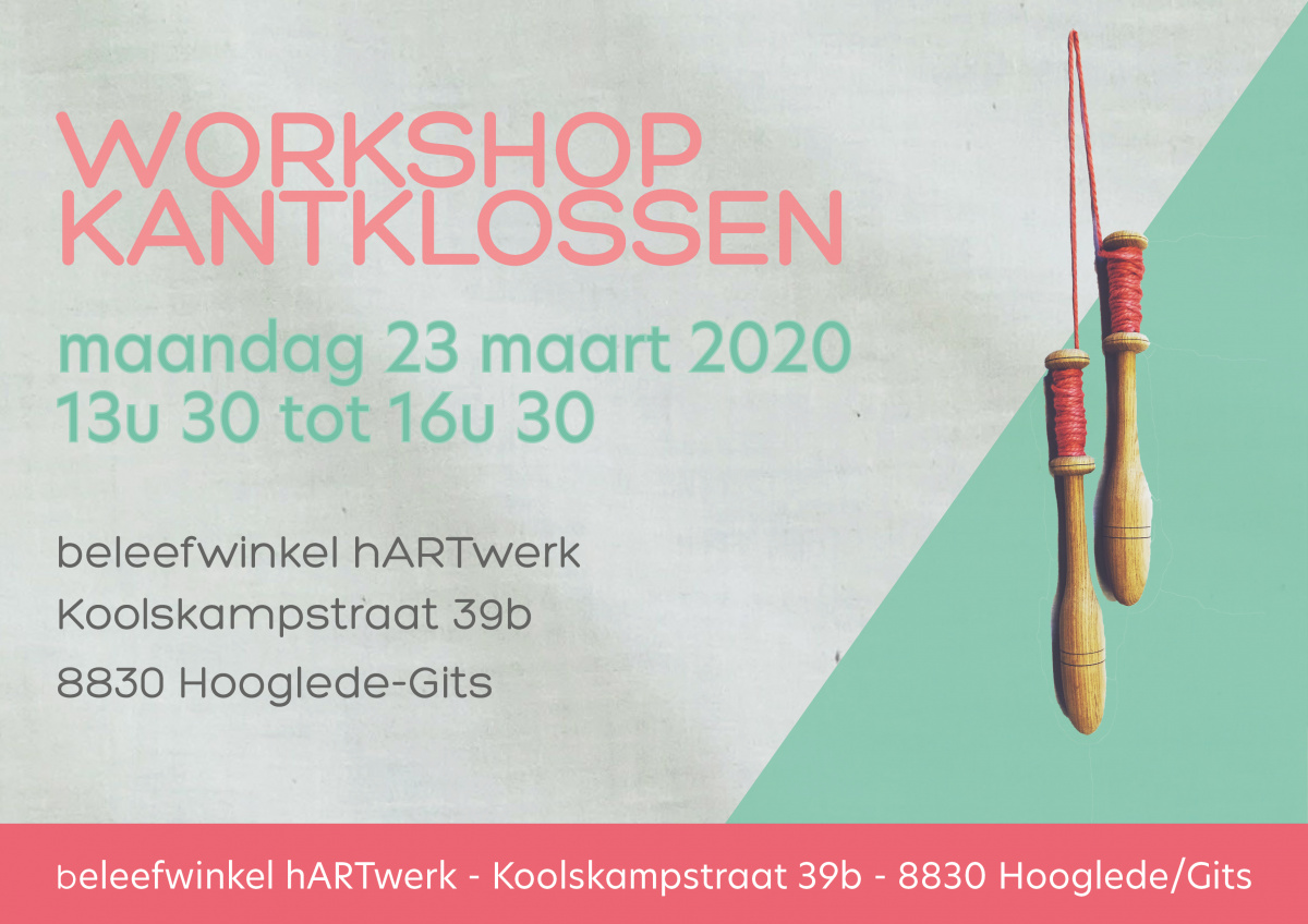 Workshop kantklossen hArtwerk