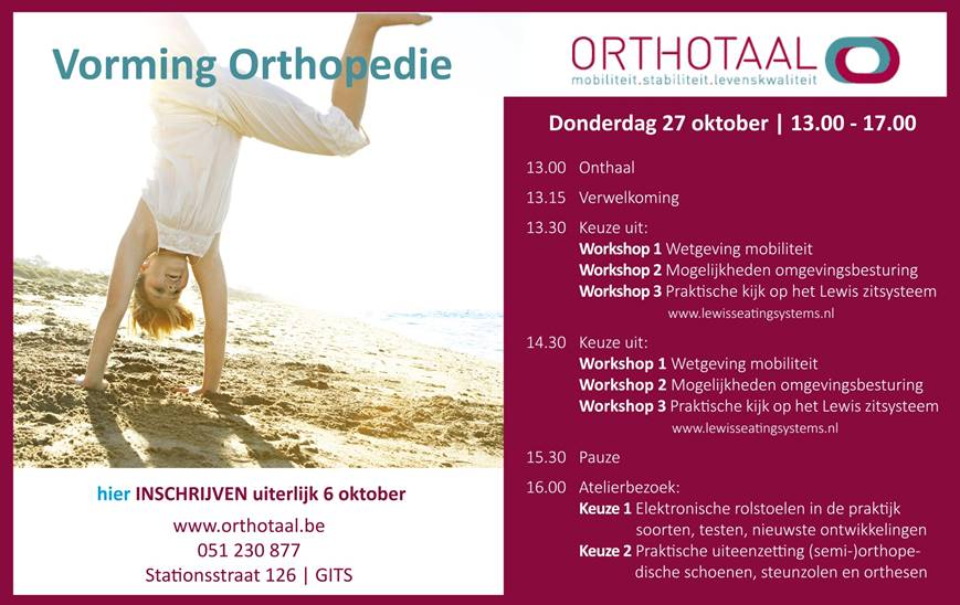 Vorming orthopedie